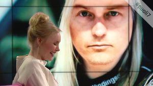 Emma Kimiläinen yllätettiin kuvamuokkauksella. Katso miltä näyttäisi formulakuski Emma Kimimäinen.