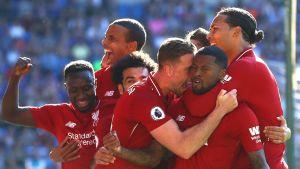 Liverpool palasi Valioliigan kärkeen