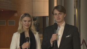 Euroscola-tapahtumassa nuorten puheenaiheeksi nousi brexit