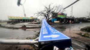 Sykloni Fani on iskeytynyt Intian koillisrannikolle.