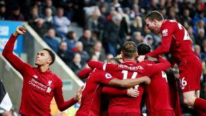 Voitto piti Liverpoolin mestaruushaaveet elossa