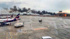 Tuhoisa lento-onnettomuus Moskovassa