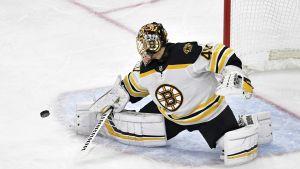 Rask torjui kuudennen perättäisen voiton, Boston enää voiton päässä Stanley Cupin finaaleista