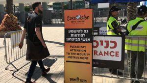 Tel Avivin Euroviisuissa on tiukat turvatoivet