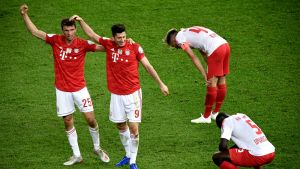 Näillä maaleilla Bayern sinetöi Saksan cup-pokaalin