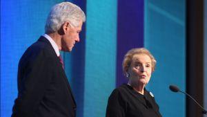 Clinton ja Albright Kosovossa