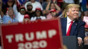 Donald Trump avasi vaalikampanjansa Floridassa