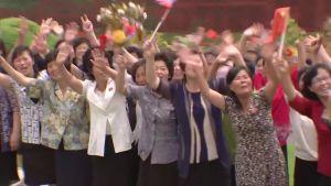 Kiinan presidentti Xi Jinping saapui vierailulle Pohjois-Koreaan