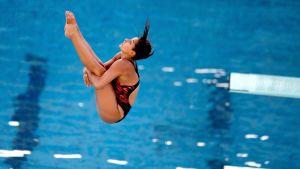 Uimahyppyjen MM: naisten 1 m:n alkukilpailu