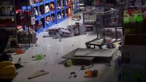 Voimakas maanjäristys vavisutti Etelä-Kaliforniaa