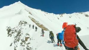Tiibetin poliisi julkaisi Himalajalla kadonneen retkikunnan kypäräkameran videon