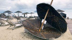 Kreikan pohjoisosassa myrskysi voimakkaasti - useita kuoli