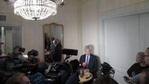 Antti Rinne linjaa politiikan syksyä