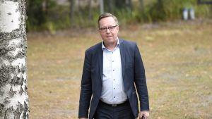 Valtiovarainministeri Lintilä kertoo valtion ensi vuoden budjetin valmistelusta