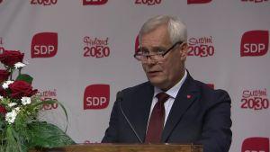 Antti Rinne linjasi SDP:n tavoitteita