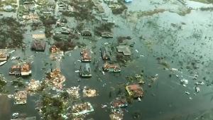 Dorian-myrskyn tulvat hautasivat Bahamasaaret veden alle