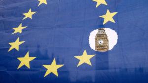Brexit-tilannetta selvitellään Euroopan parlamentissa Brysselissä