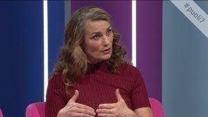 Näyttelijä Jonna Järnefelt: Väkivallan esittäminen pitää olla aina psykologisesti perusteltua