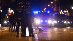 Barcelonan mielenosoitukset jatkuvat rauhanomaisina