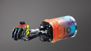 Robottikäsi oppi ratkaisemaan Rubikin kuution