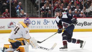 Barkov, Aho ja Donskoi maalasivat NHL-kierroksella