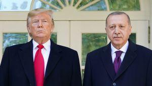 Trump ja Turkin presidentti Erdoğan tapasivat Washingtonissa - tiedotustilaisuus