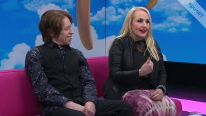 Maarit ja Sami Hurmerinta kertoivat millä nimityksillä lapsenlapset heitä kutsuvat.