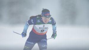 Krista Pärmäkoski upeasti toinen Rukalla, vain Therese Johaug parempi!