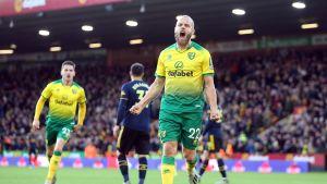 Teemu Pukki osui Valioliigassa, Norwich tasapeliin Arsenalia vastaan