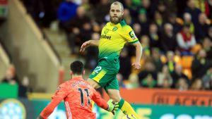 Wolverhampton nousi voittoon Norwichista