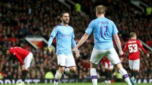 Manchester City vahva liigacupin 1. välieräosassa
