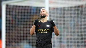 Manchester City murskasi Aston Villan, Agüero iski hattutempun