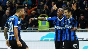 Näin Inter eteni jalkapallon Italian cupin välieriin