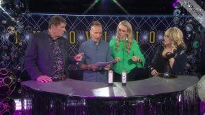 """Marionin ja Fredin piti tunnistaa euroviisuvoittajia alkusoiton perusteella: """"Hetkinen, se oli tämä, se oli, kyllä minä tiedän tämän"""""""