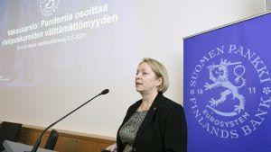 Suomen Pankki julkaisee arvion rahoitusjärjestelmän vakaudesta