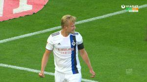 HSV:n Joel Pohjanpalo puskee avausmaalin tärkeässä ottelussa