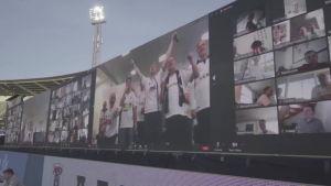 Tanskassa keksittiin nerokas keino tuoda kannattajat jalkapallostadionille