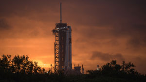 SpaceX:n laukaisua avaruuteen yritetään uudelleen