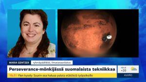 Amerikkalaismönkijän kyydissä suomalaista tekniikkaa Marsiin