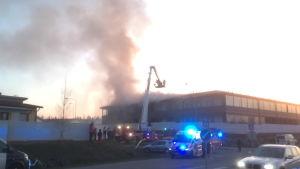 Tulipalo Kuopiossa