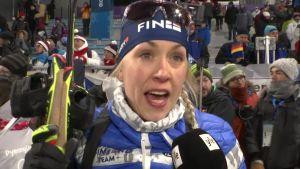 Korean olympialaiset: Laura Toivanen puhkesi kyyneliin