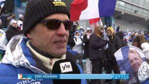 """Korean olympialaiset: Iivo Niskasen isä Eero Niskanen: """"Kun venäläinen sai kiinni, niin alkoi jännittämään"""""""