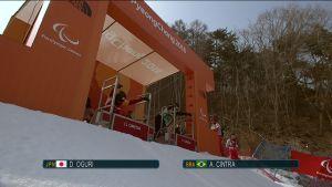 Korean paralympialaiset: Lähtöporttitekniikka petti lumilautakrossissa