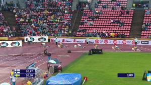 Miesten 200 metrillä pistevoitto Suomeen pitkästä aikaa