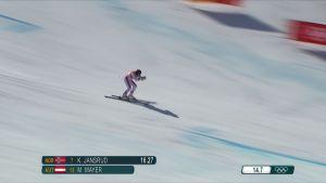 Korean olympialaiset: Romar hävisi Mayerille yli kolme sekuntia