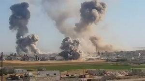 Idlibin pommitukset kiihtyvät