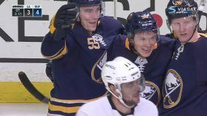 Skinner ja Ristolainen ratkaisivat Buffalolle