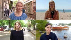 Kirjeenvaihtajat kertovat koronan vaikutuksesta matkailuun