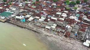Tältä näyttävät Indonesian tsunamin aiheuttamat tuhot