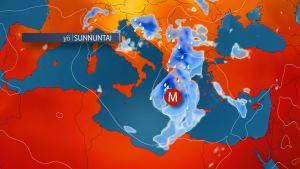 Medikaani muodostuu Välimerellä